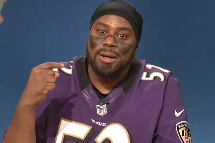 Ray Lewis Spoofed on SNL