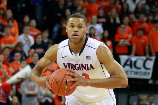 Freshman Anderson Leads Virginia over Boston College