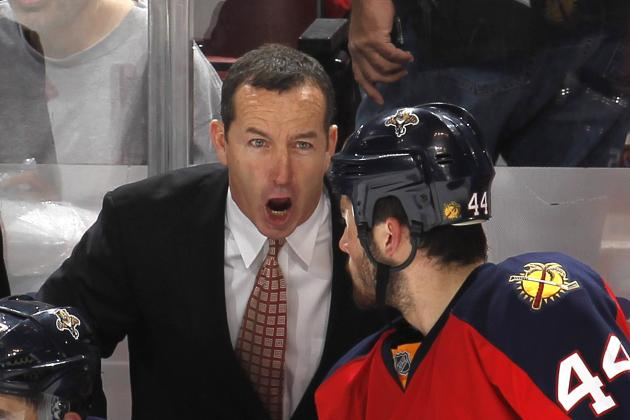 Dineen Guarantees Panthers Will Lose Bad Habits During 4-Game Slide