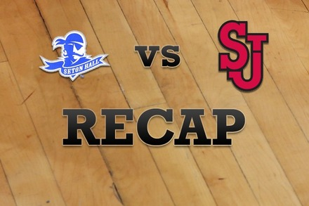 Seton Hall vs. St John's: Recap and Stats