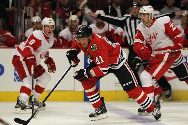 Detroit Red Wings vs. Chicago Blackhawks: Live Score, Updates and Analysis