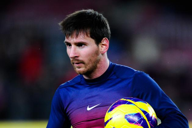 Messi Scores Four Goals to Pass 200 in La Liga