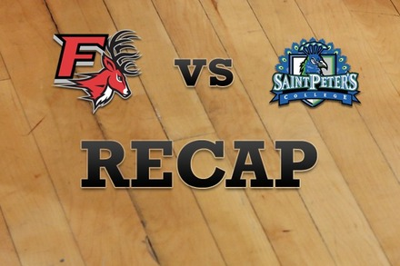 Fairfield vs. St. Peter's: Recap and Stats