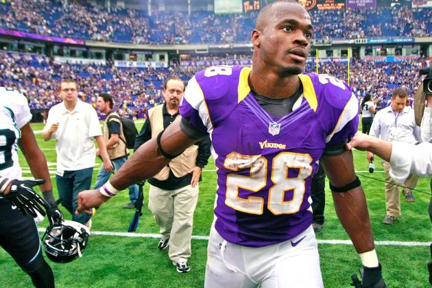 Vikings' Adrian Peterson Sure He Will Win NFL's MVP Award