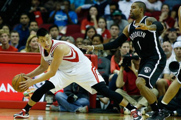 Jeremy Lin: Breaking Down Rockets Point Guard's First-Half Struggles