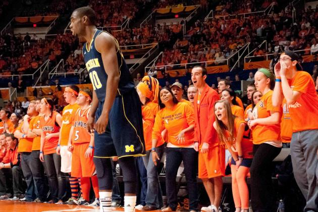 NCAAM Gamecast: Michigan vs Illinois