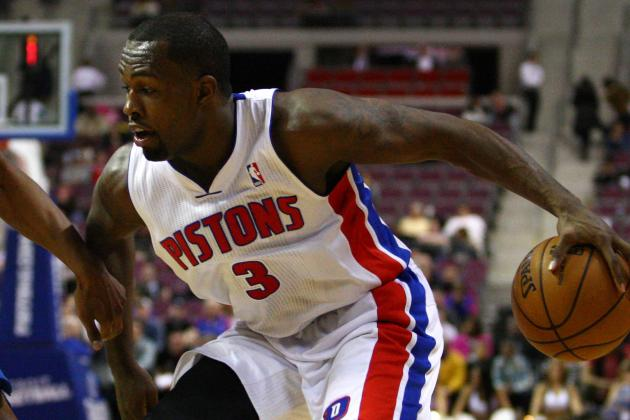 Pistons' Rodney Stuckey Inactive (Coach's Decision) for Tonight vs. Magic
