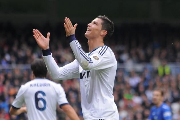 Ronaldo Treble Lifts Bad Mood in Madrid