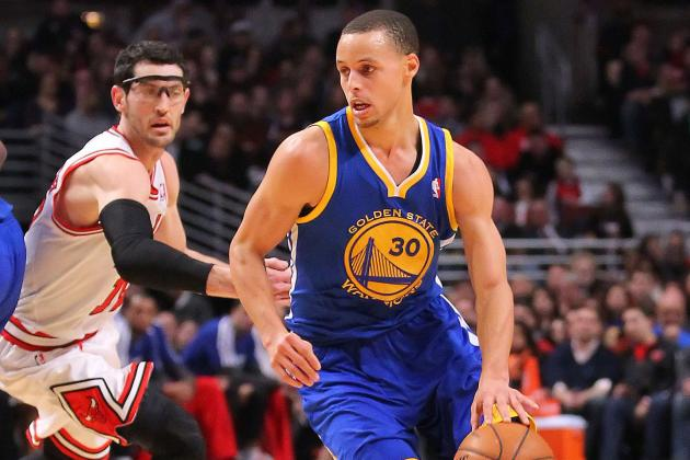 Stephen Curry Receives Invite to All-Star Weekend's Three-Point Contest