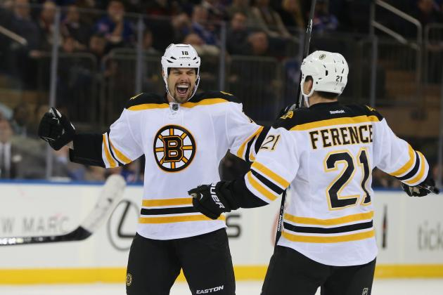 Boston Bruins' Nathan Horton Not Letting Delicacy Become Part of His Game
