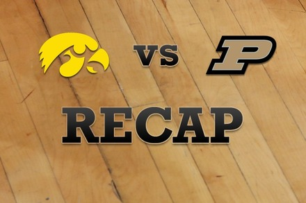 Iowa vs. Purdue: Recap and Stats