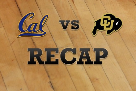 California vs. Colorado: Recap and Stats