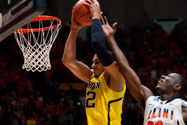 No. 2 Michigan 74, Illinois 60