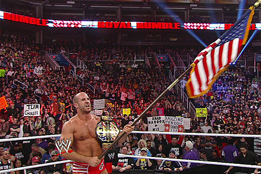 WWE Royal Rumble Results: The Miz Should Have Defeated Antonio Cesaro