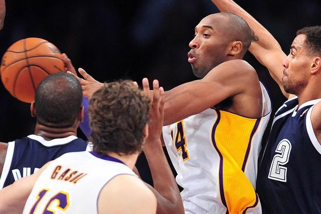 Kobes Passing Makes the Game Beautiful Again: Lakers Blog