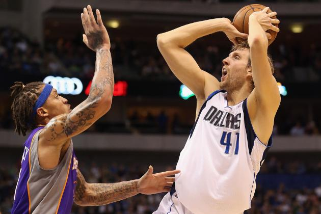 Dirk Nowitzki Moves Past Allen Iverson Among All-Time Scorers