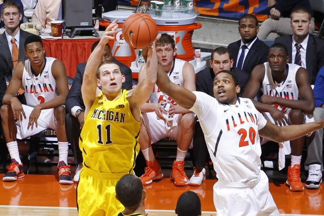 Illinois falls to No. 2 Michigan