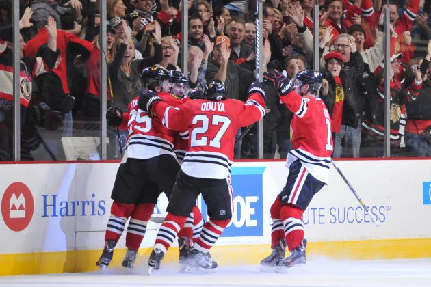 Blackhawks Top Wings in OT to Remain Unbeaten