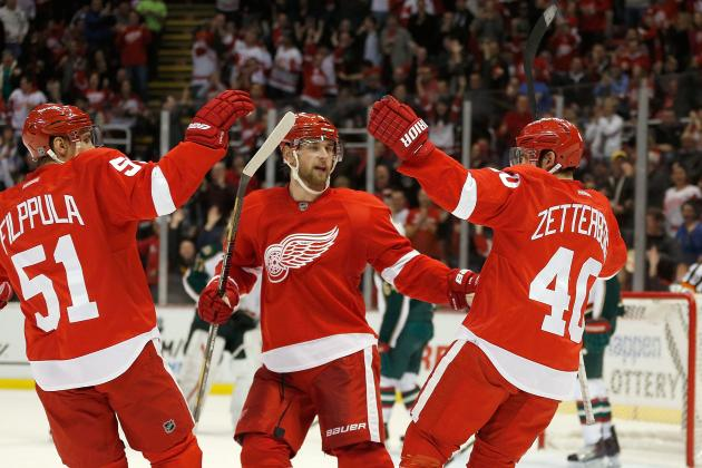 Positives and Negatives from the Start of the Detroit Red Wings' 2013 Season