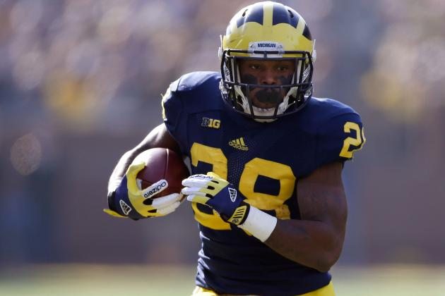 Michigan Football: Why Fitz Toussaint Is Not the Answer at RB