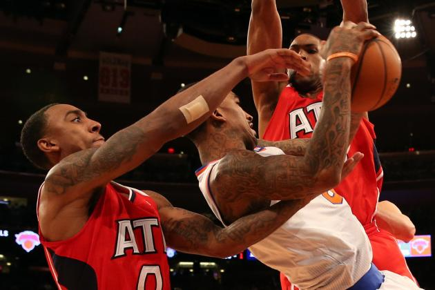 Questionable Calls Late Cost Hawks in Loss to Knicks
