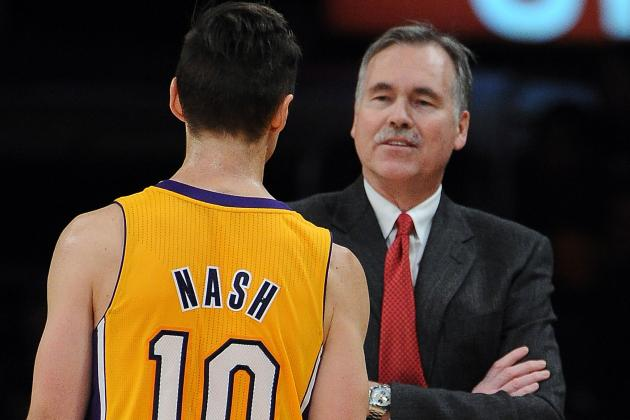 Lakers Rise as D'Antoni's Offense Ditched