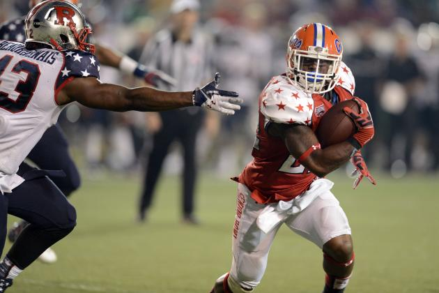 Senior Bowl 2013: Running Backs Who Improved Their Stock the Most