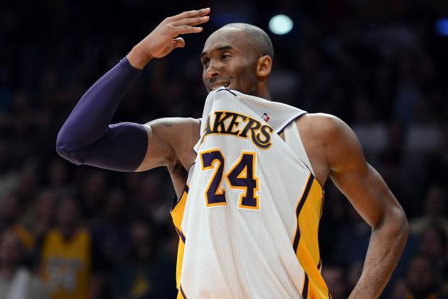 Kobe Bryant 'Happy as Hell' in Role as Lakers' Playmaker