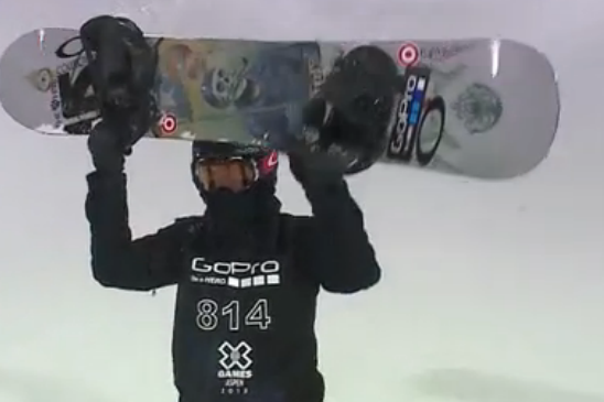 White Takes Gold in SuperPipe Finals