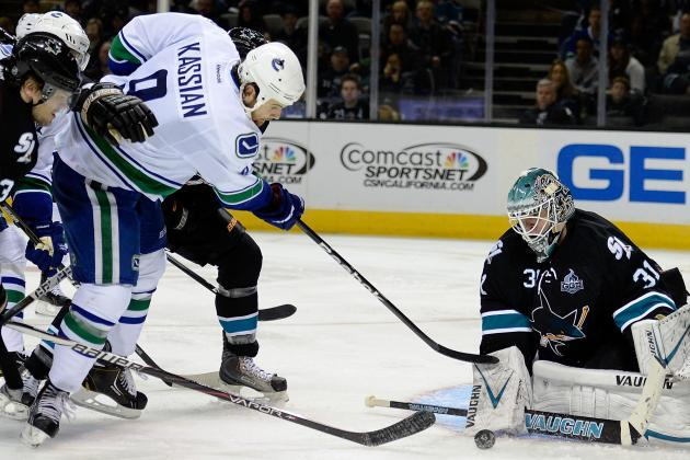 San Jose Sharks Stay Perfect with 4-1 Win over Vancouver Canucks