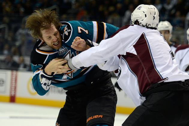 No action taken against Sharks defenseman Brad Stuart