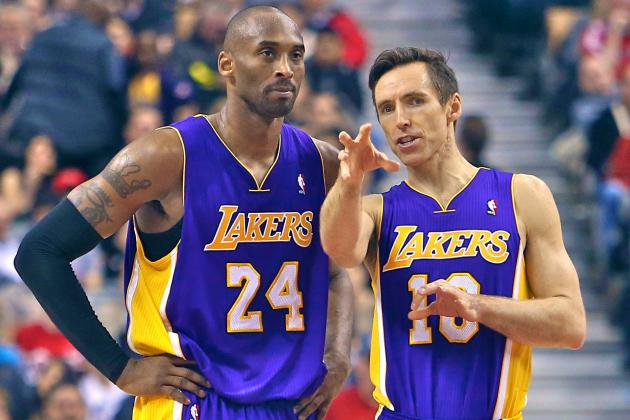 Steve Nash Says Kobe Bryant Loses Faith in Teammates, Reminds Him of Magic