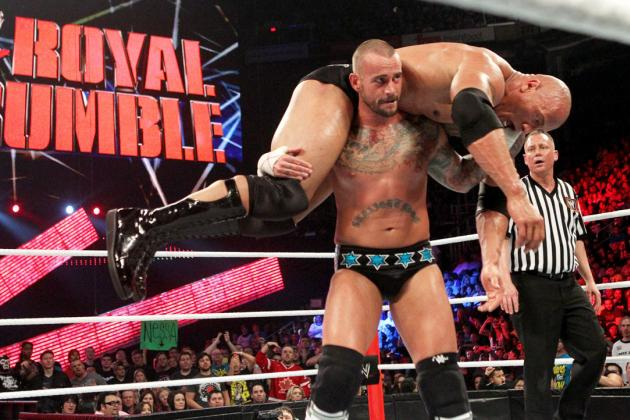 Royal Rumble 2013: Where Rock-Punk Ranks Among Great Matches in Event History