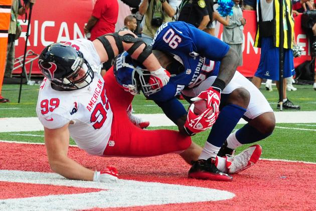 J.J. Watt Bloodies Up the Pro Bowl and Other AFC South Must-Reads