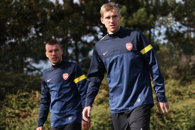 Podolski and Mertesacker Have a Point to Prove as Arsenal Host Bayern Munich