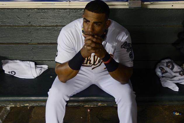 A's hope Céspedes loses worry-weight