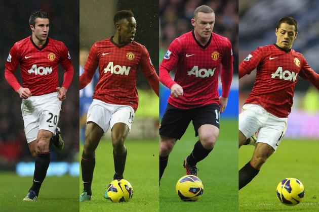 Do Van Persie, Rooney, Hernandez and Welbeck Compare to Ferguson's 1999 Quartet?