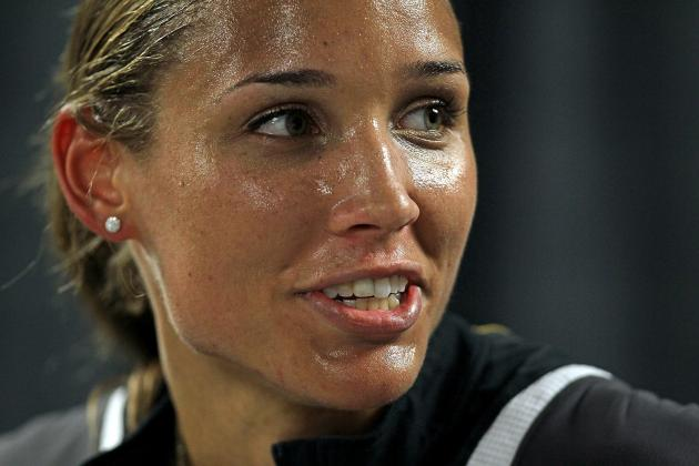 Olympian Lolo Jones Shows Versatility Helping Team USA Win Bobsled-Skeleton Gold