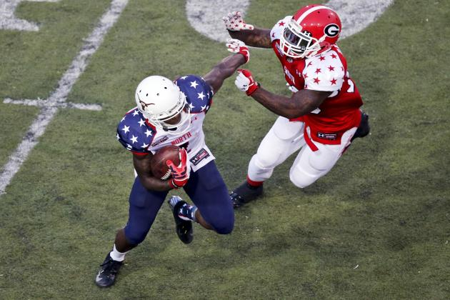 Marquise Goodwin Shines in Senior Bowl