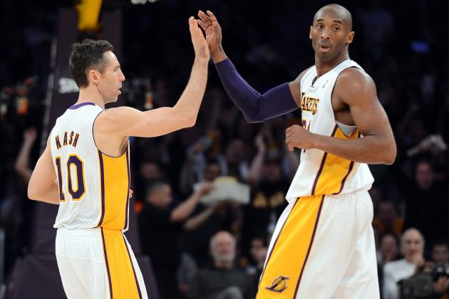 Unselfish Kobe Bryant Reminds Steve Nash of Magic Johnson