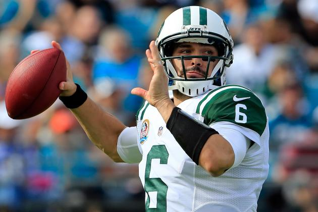 Jets GM Idzik 'comfortable' with Mark Sanchez at QB