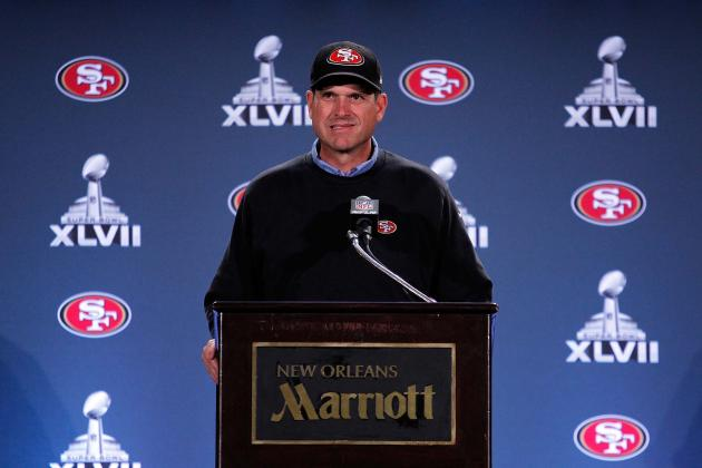 Big-Game Nerves? Harbaugh Says 49ers Embrace Big Stage