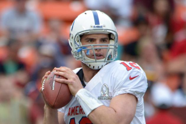 Andrew Luck Leads All Passers in Pro Bowl