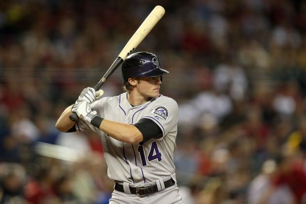 Offseason Work Has Rockies' Josh Rutledge Ready to Challenge for Starting Job