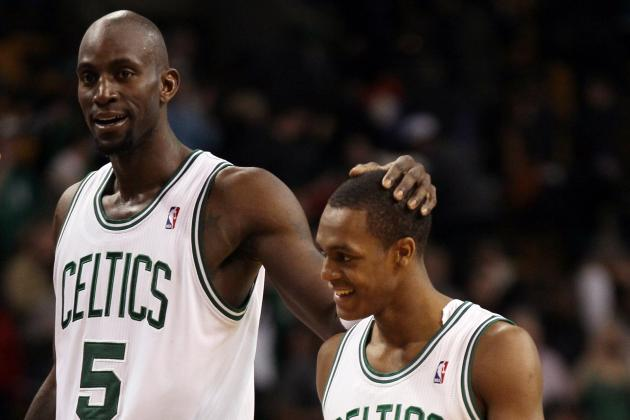 Kevin Garnett Urges Rajon Rondo to Take His Time During Rehab