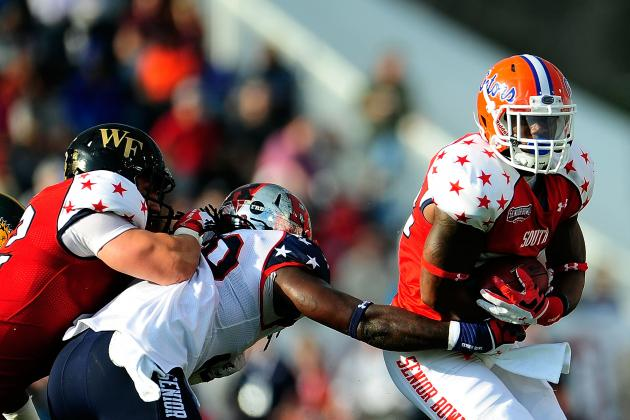 Gillislee, Nixon Play in 2013 Senior Bowl