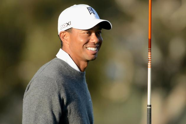 Tiger Leads At Torrey Pines Thanks To Vintage Effort