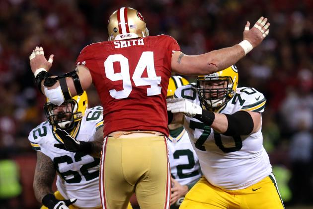 Justin Smith Doesn't Think Triceps Injury Is Disrupting 49ers Pass Rush