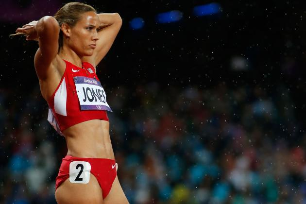 U.S. Track Star Lolo Jones Wins Gold In Unlikely Event