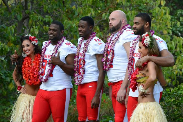 Cincinnati Bengals' Andrew Whitworth Enjoys Hawaiian Dream